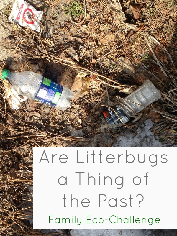 are litterbugs a thing of the past