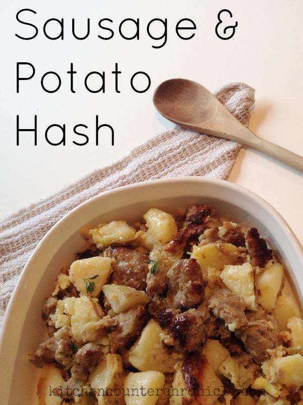 sausage and potato hash