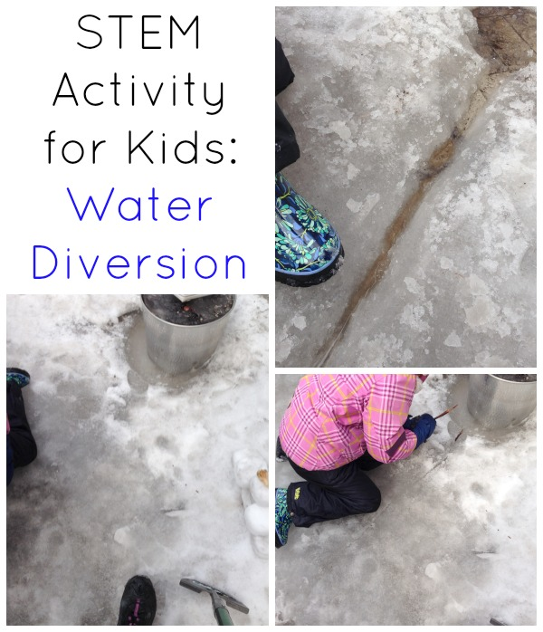 STEM Activities for Kids : Water Diversion