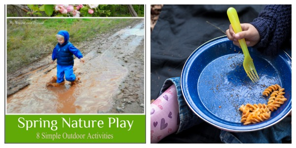 outdoor play party collage april 11
