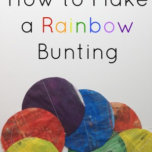 how to make simple bunting