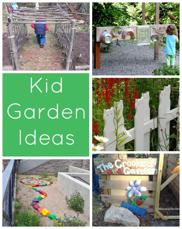 Spring has Sprung - Kid Garden Ideas