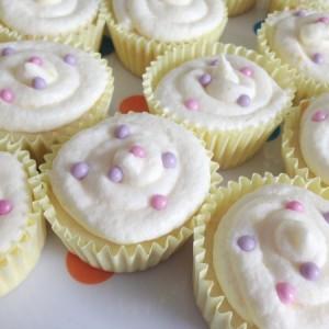 cake mix lemon cupcake
