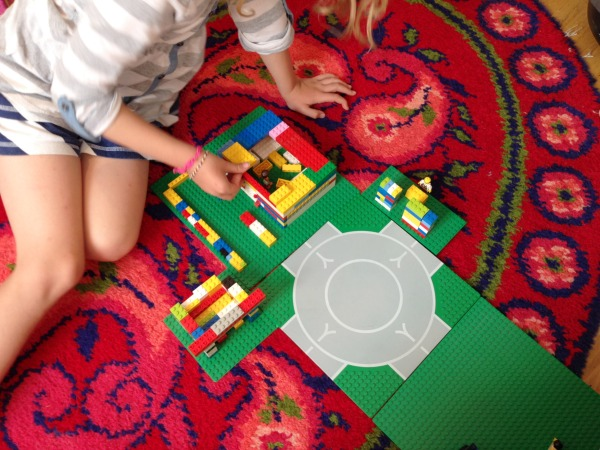 architecture for kids on floor