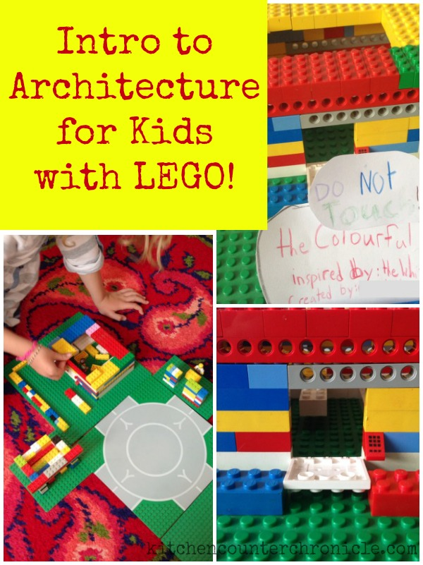 intro to architecture for kids with lego