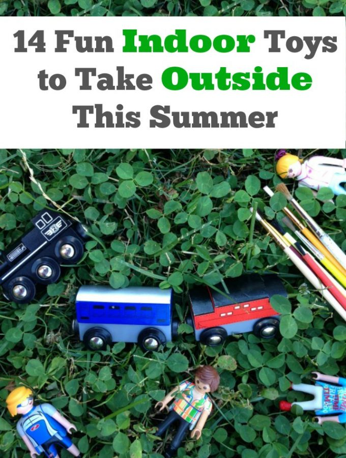 14 Indoor Toys to Take Outside This Summer