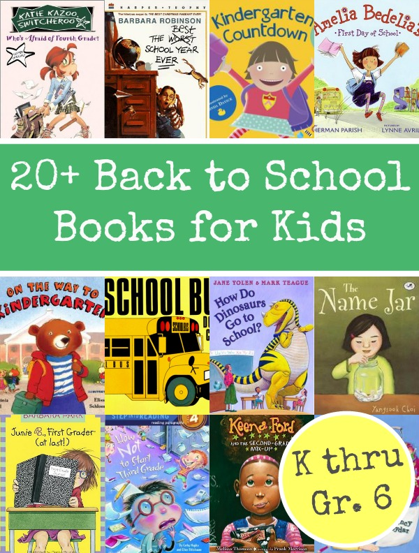 Back to School Books for Kids