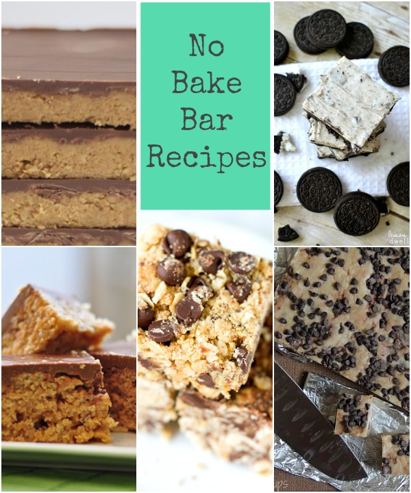 No bake bar recipes