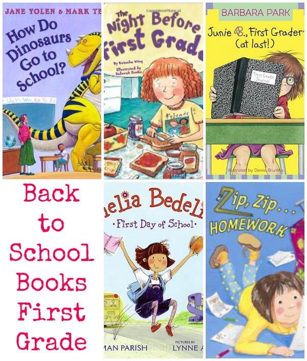 back to school books first grade