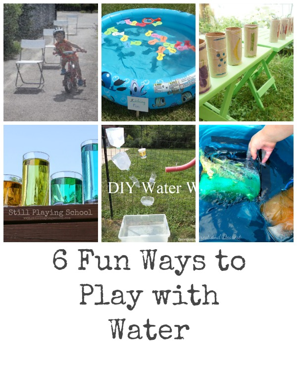 Fun Ways to Play With Water