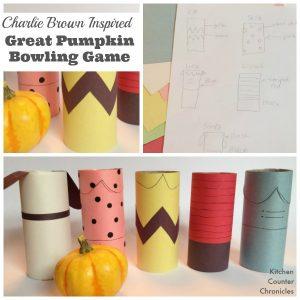 Charlie Brown Great Pumpkin Bowling Game