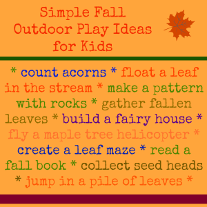 fall outdoor play ideas for kids