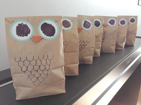 owl loot bags