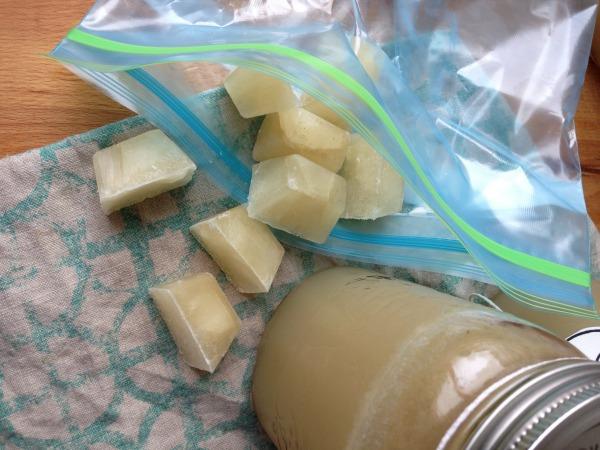 turkey stock ice cubes