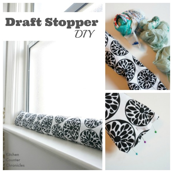 Draft Stopper DIY - How to make a draft stopper