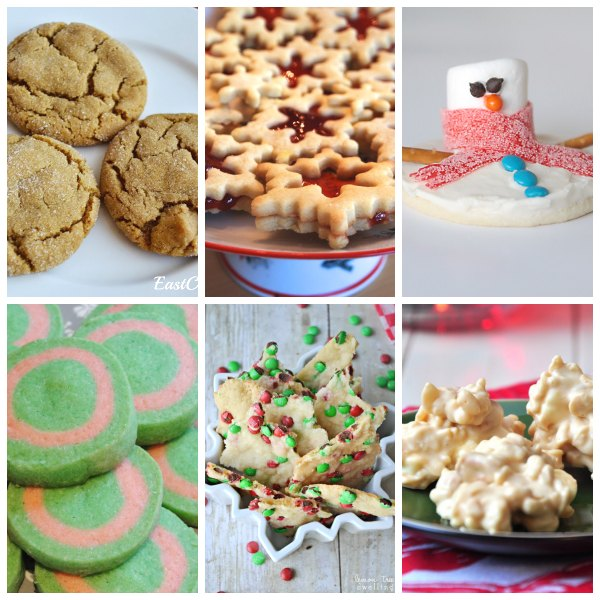 christmas cookie collage 3