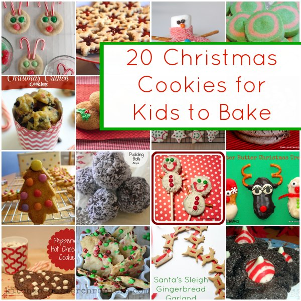 20 Spectacular Christmas Cookies Kids Can Bake