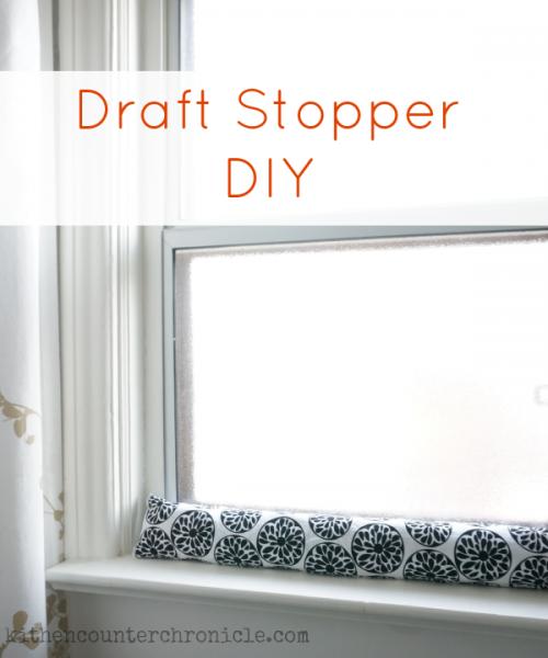 draft stopper diy