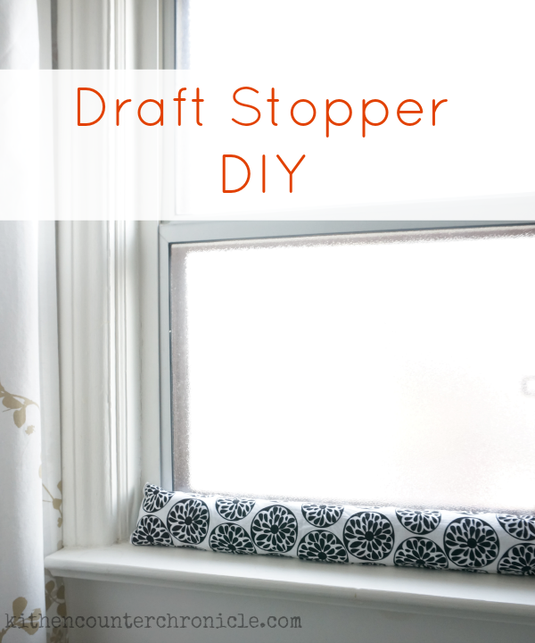 Draft Stopper DIY