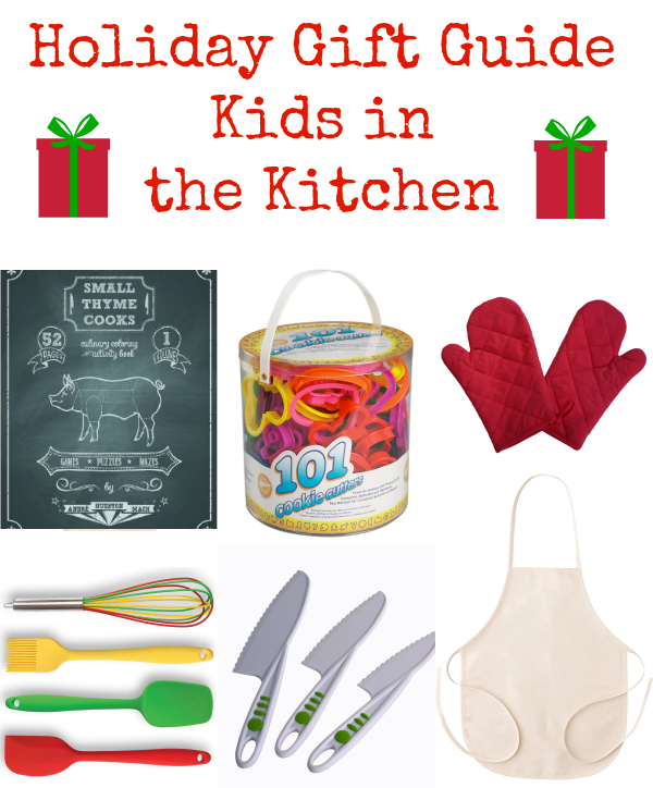holiday gift guide kids in the kitchen