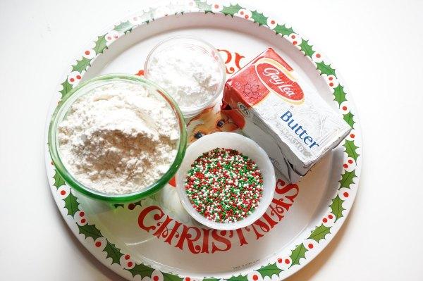 shortbread cookie ingredients