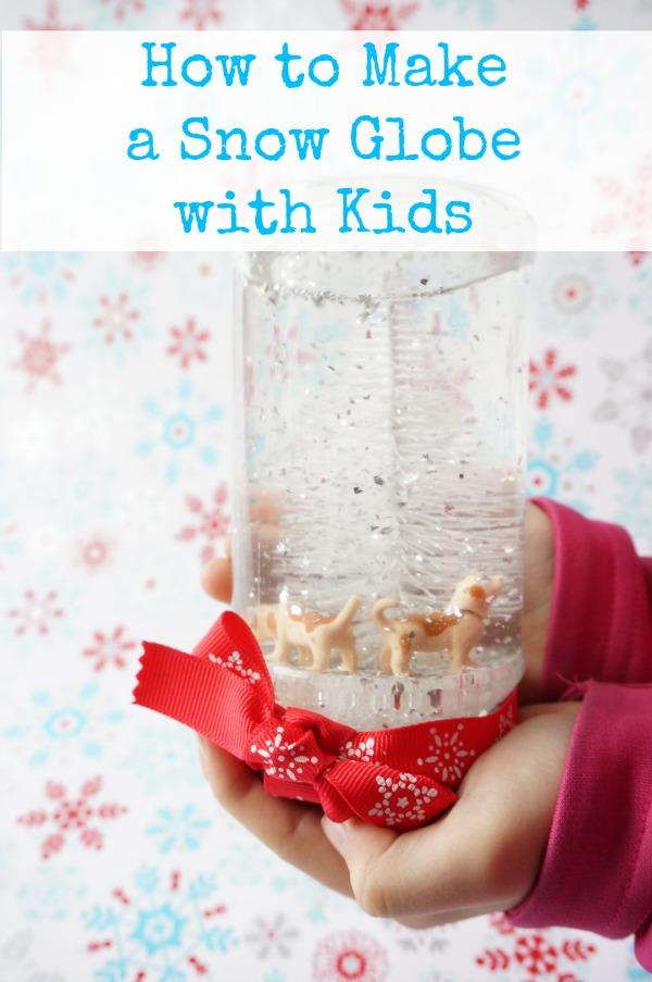 snow globe with kids