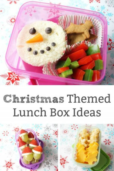 Christmas themed lunch box