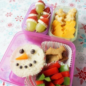 christmas themed lunch ideas