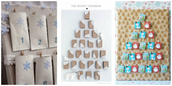 diy eco friendly advent calendars