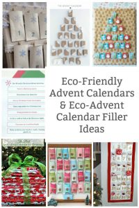 eco friendly advent calendar and fillers