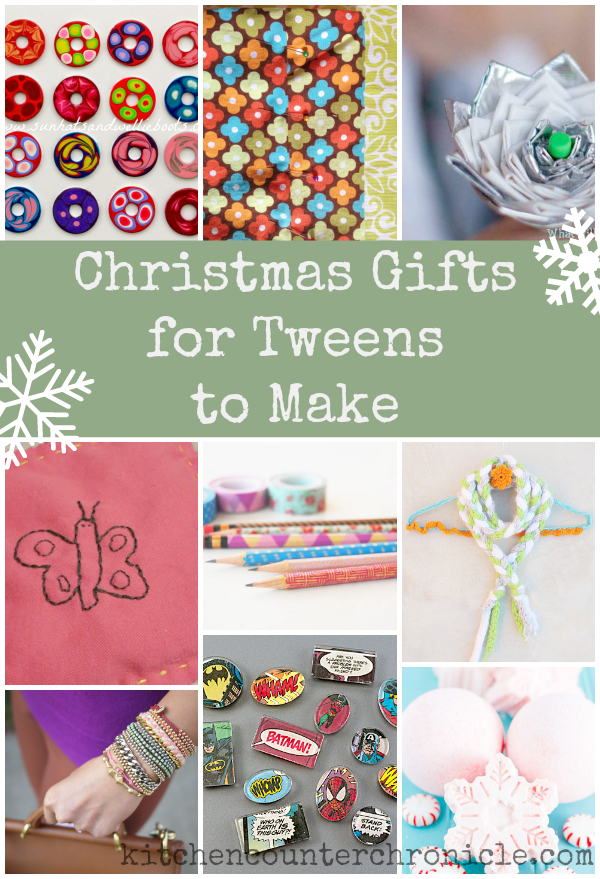 Christmas Gifts for Older Kids to Make