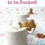 Gingerbread Men Who Don't Want to be Dunked!