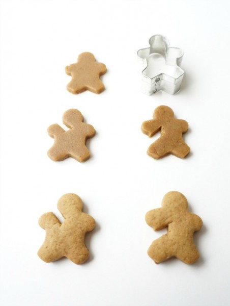 gingerbread men cutout
