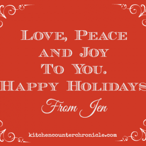 love peace and joy to you