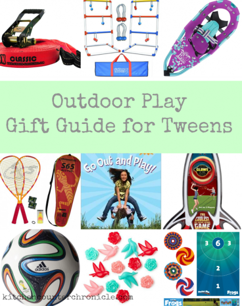 outdoor gift guide for tweens