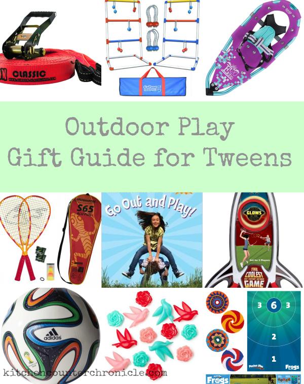 outdoor gift guide for tweens
