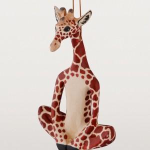 yogi giraffe ornament