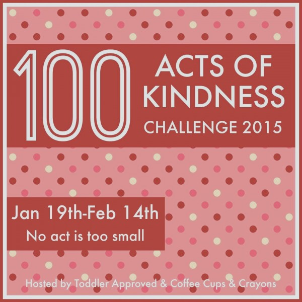 100 acts of kindness challenge