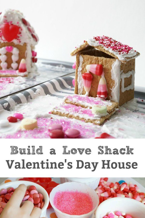 build a love shack valentine's day house