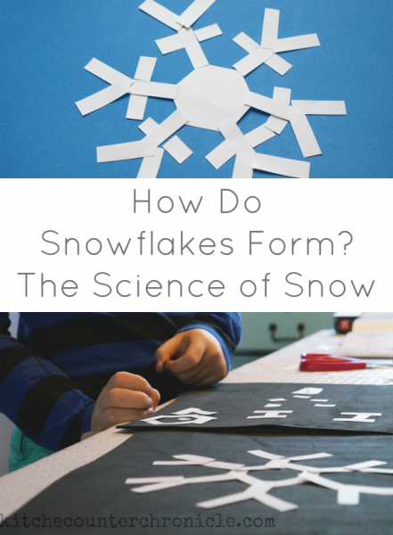 how do snowflakes form