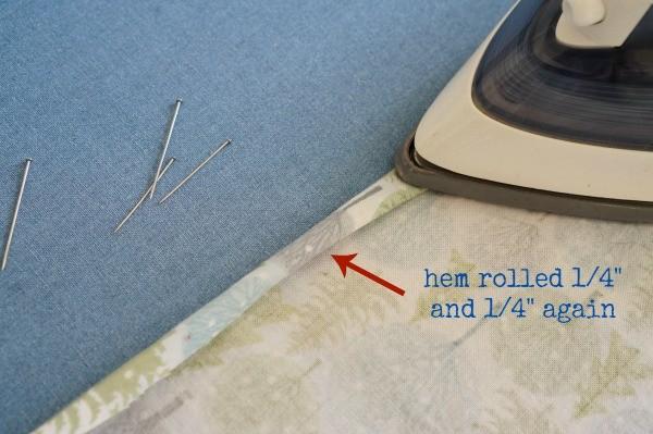 ironed hem