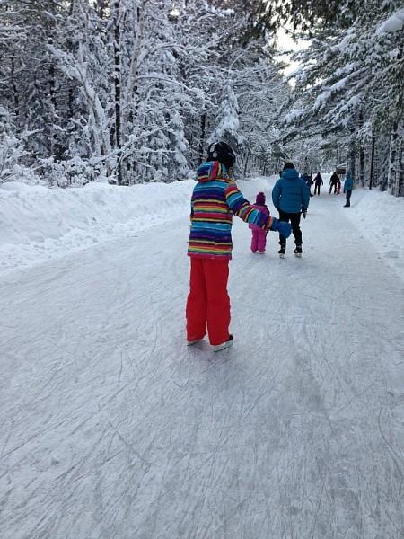 arrowhead provincial park skate trail