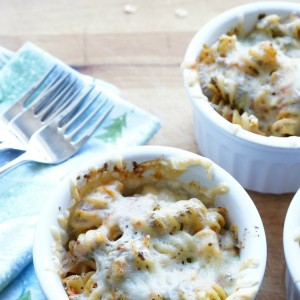 three cheese baked pasta recipe