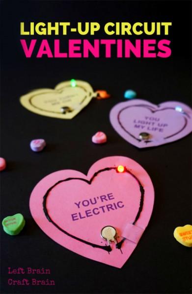 light up valentine circuits