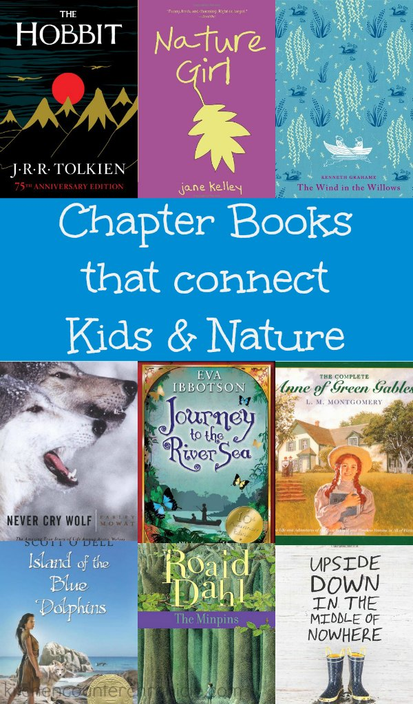 A fabulous collection of chapter books that connect children and nature | #booksforkids #chapterbooks #naturelover #naturebooks