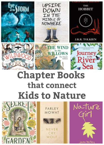 chapter books for kids that connect kids with nature