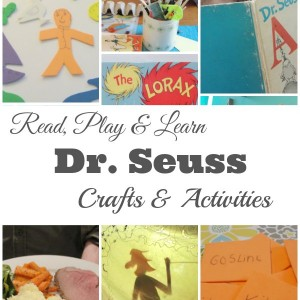 Dr. Seuss crafts games and activities for kids