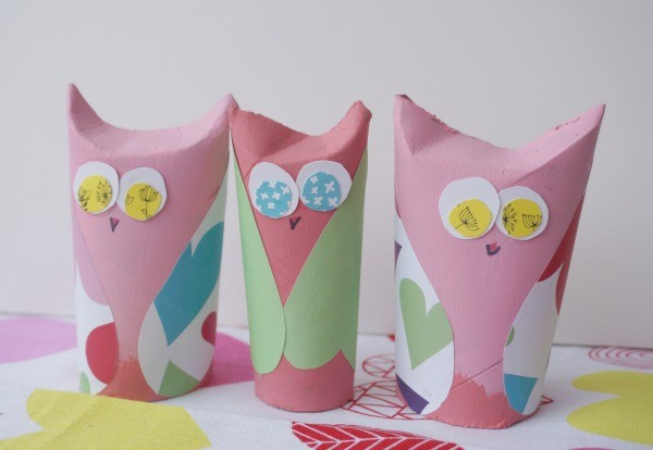 owl valentines finished