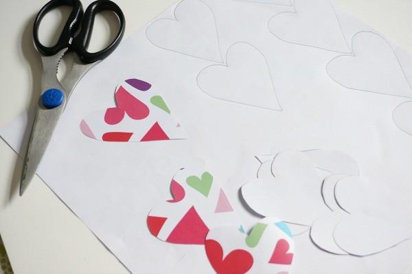 owl valentine hearts