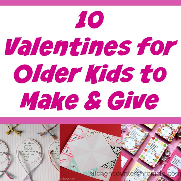 valentines for older kids to make facebook